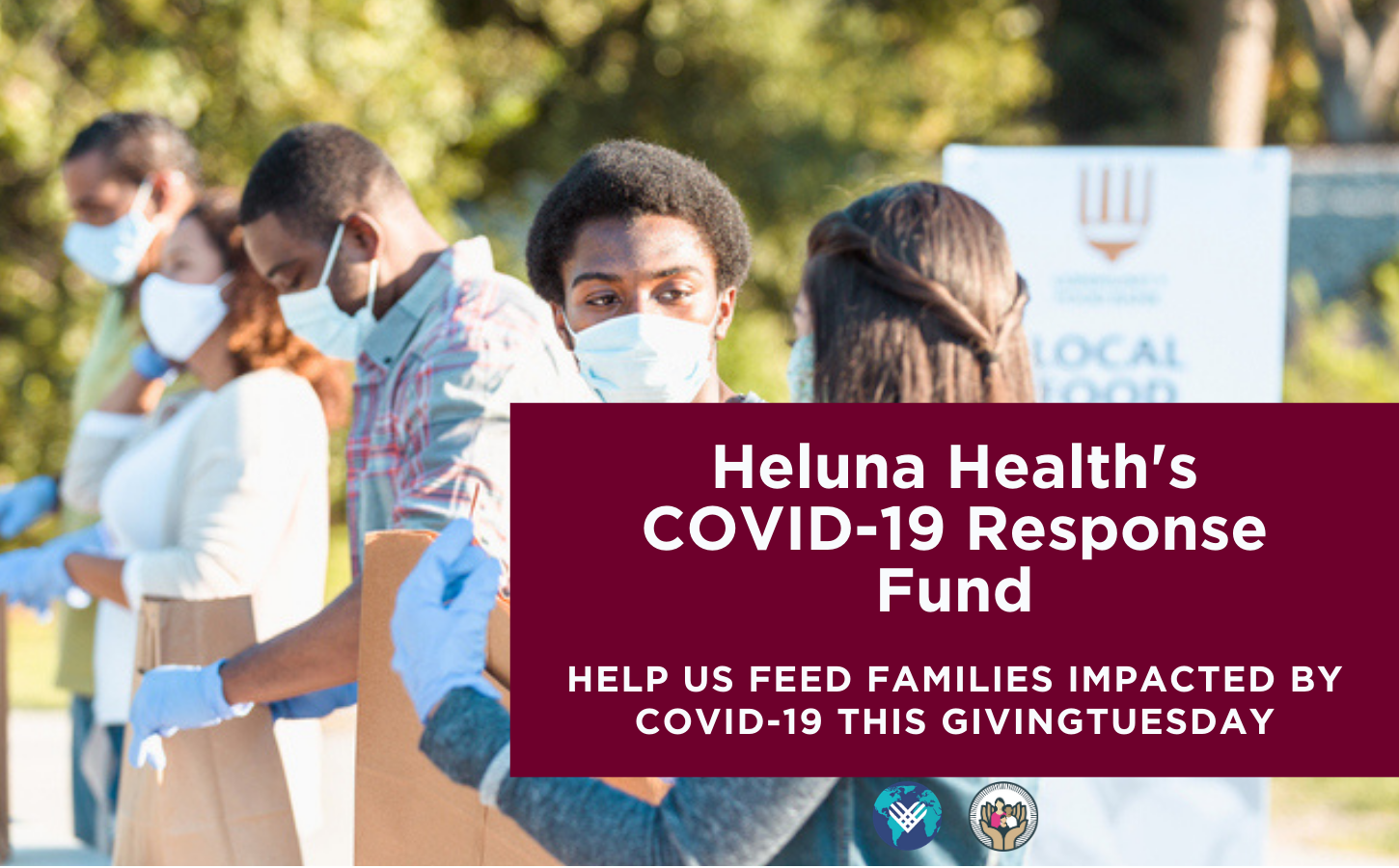 Heluna Health is inviting you to join us in supporting those impacted by hunger that is ravaging communities impacted by COVID-19.
